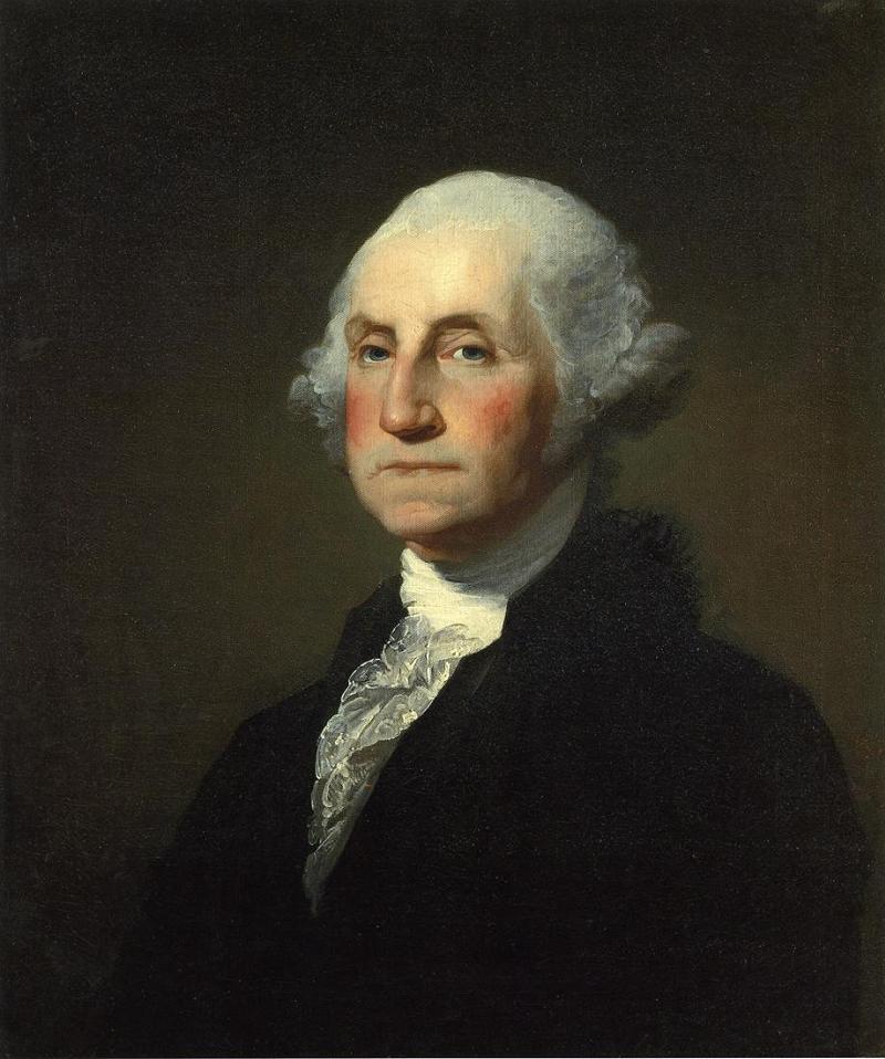 Founding Fathers GW Portrait