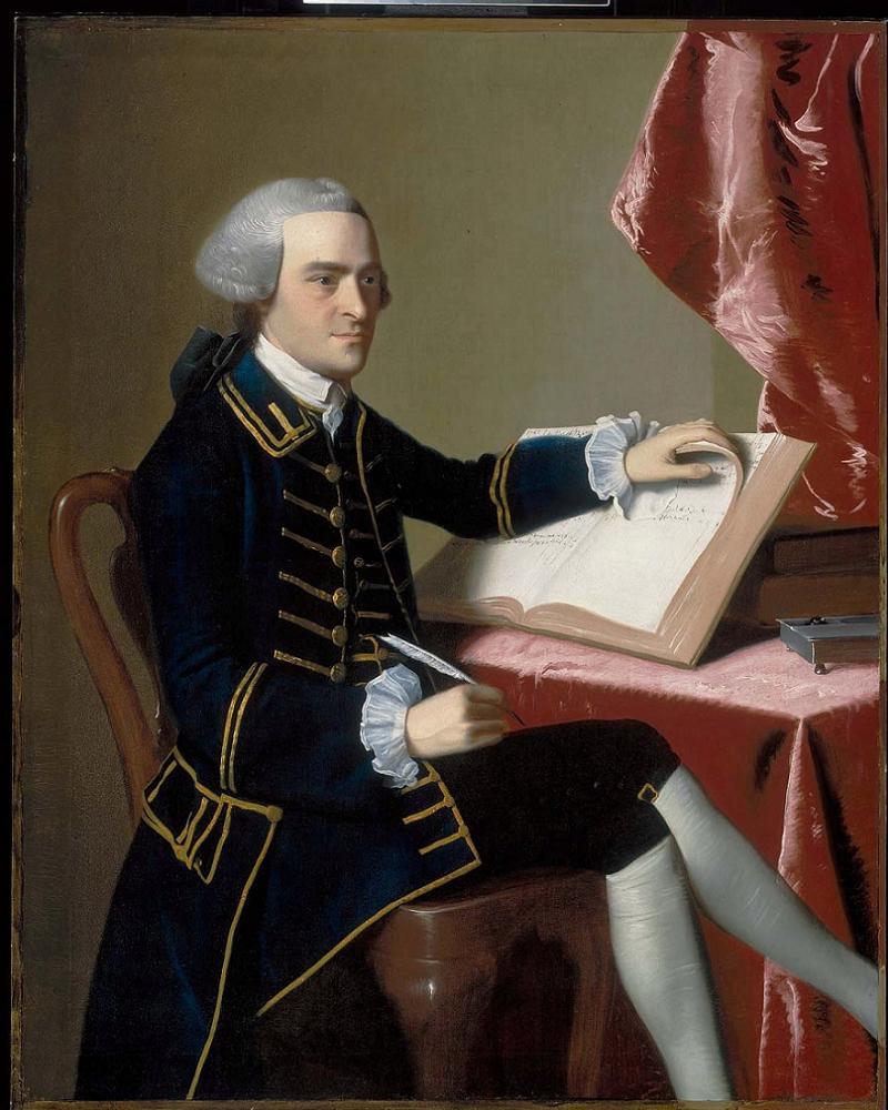 Founding Fathers Hancock Portrait