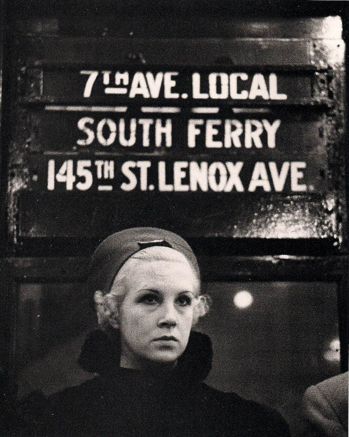 30s NYC Subways Blonde Woman