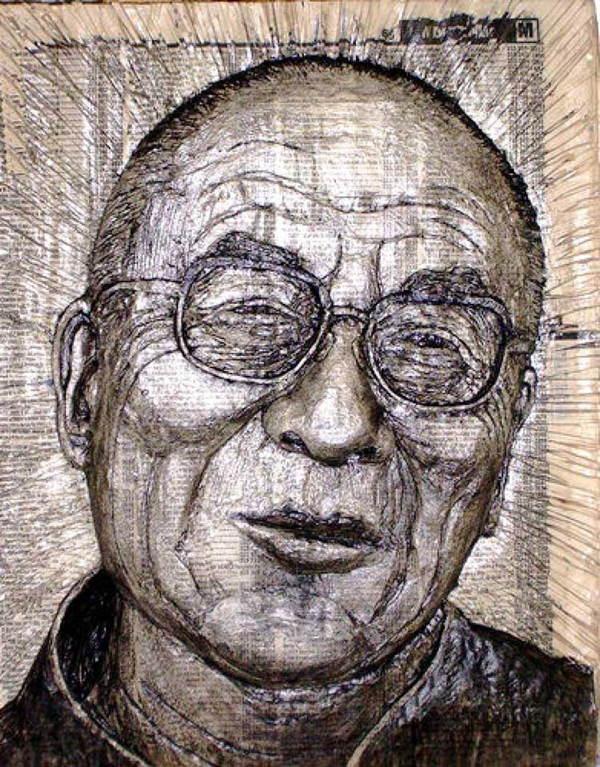 Alex Queral Dalai Lama