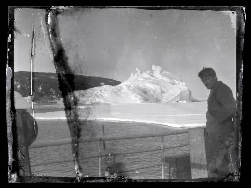 Antarctic Exploration Aurora Iceberg