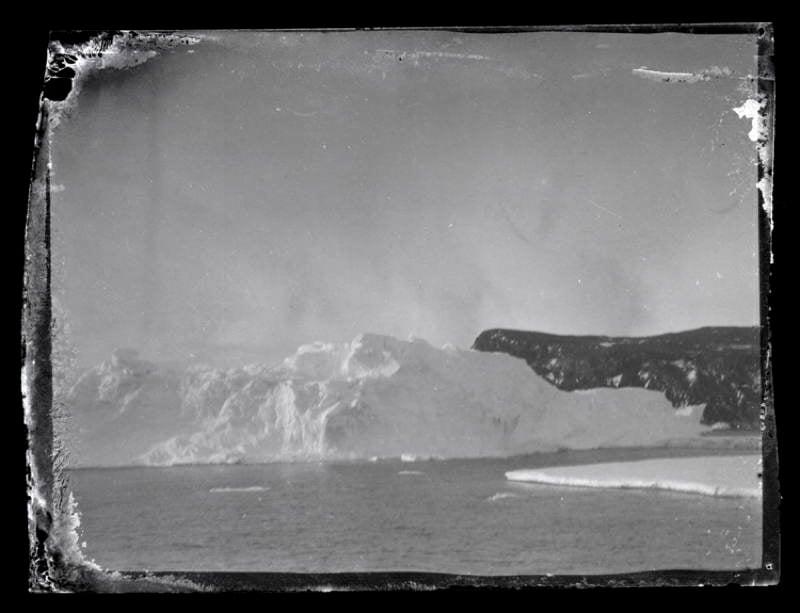 Antarctic Exploration Iceberg View