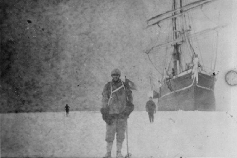 Antarctic Exploration Scott Ship