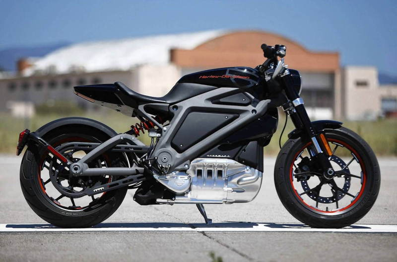 Harley Davidson Electric Motorcycle Live Wire