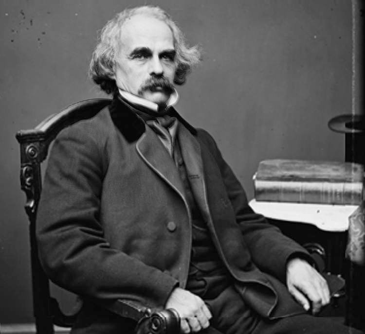 the struggles of man in the works of nathaniel hawthorne