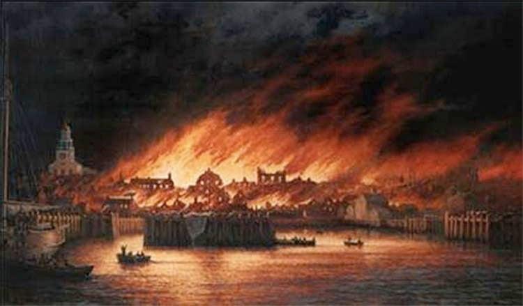 Nantucket's Great Fire