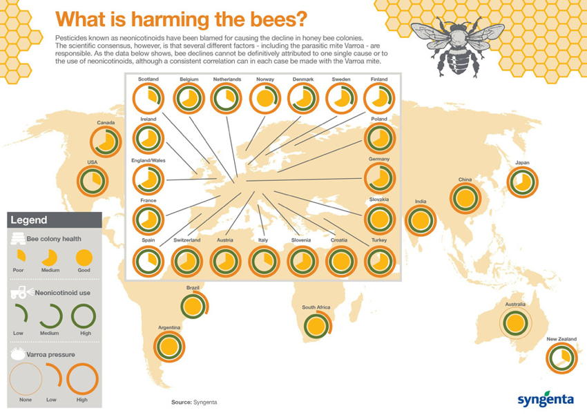 Natural Phenomena Colony Collapse Chart
