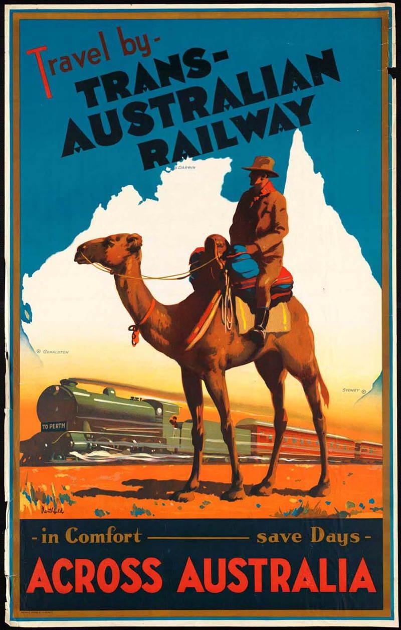 Vintage Travel Posters Australia