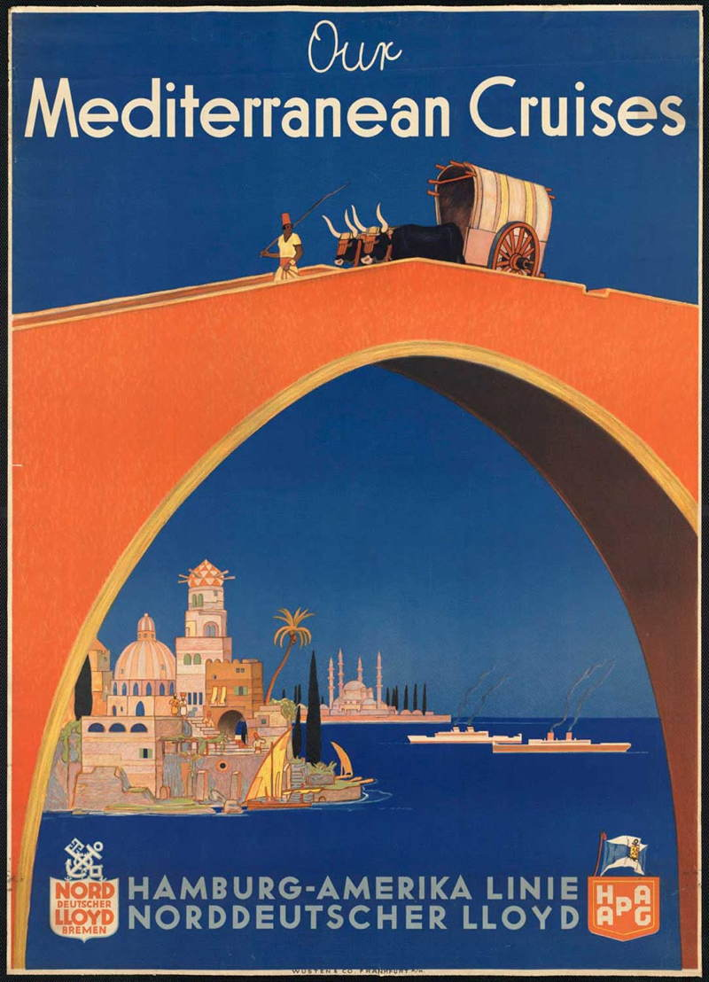 Vintage Travel Posters Germany Hamburg