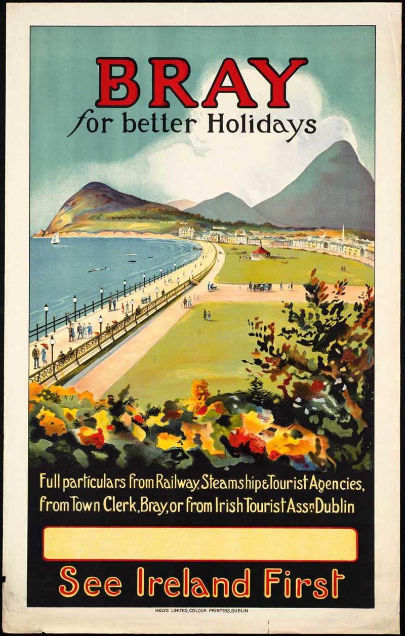 Vintage Travel Posters Ireland Bray