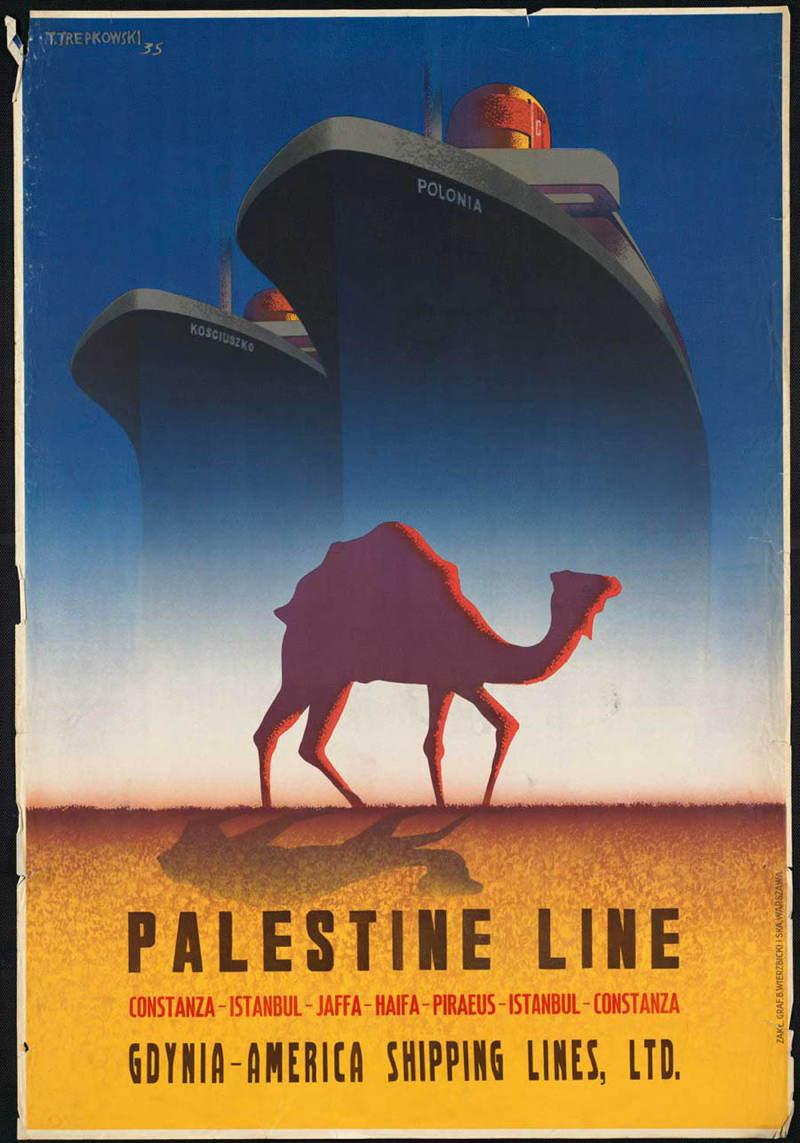 Vintage Travel Posters Camel