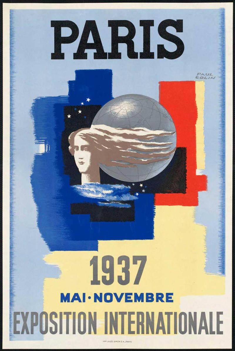 Vintage Travel Posters Paris