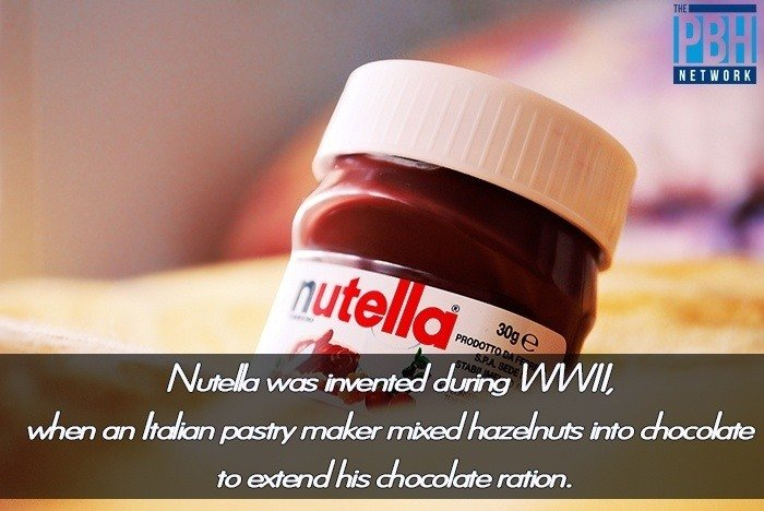 Amazing Facts Nutella