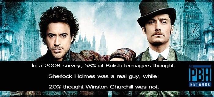 Amazing Facts About Sherlock Holmes & Winston Churchill