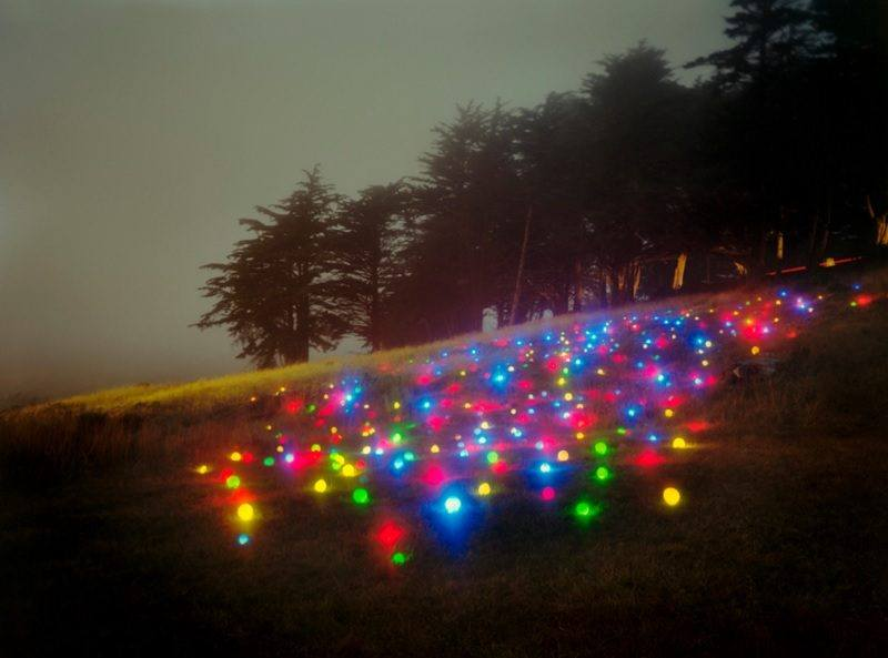 Parade Field Colorful Light Installation