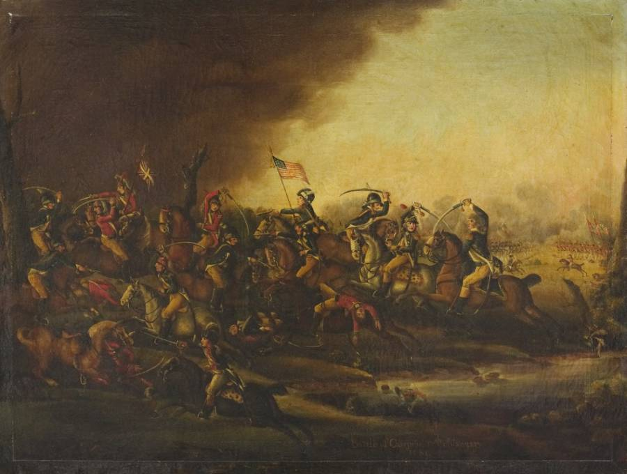 Battle Of Cowpens Painting