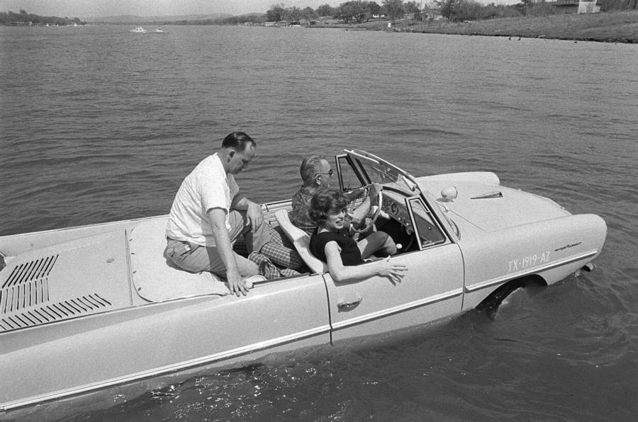 Bizarre Photos History Amphibious Car