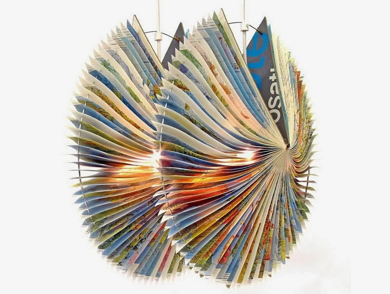 Book Art Book Lamp