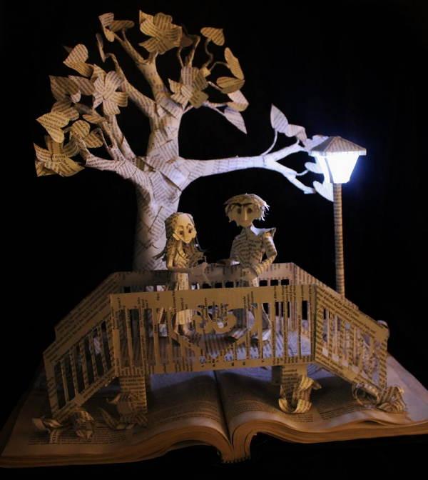 Book Art Bridge