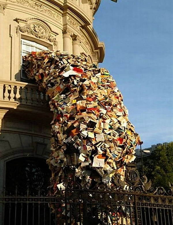 Book Art Cascading