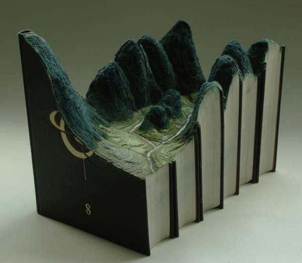 Book Art Landscape