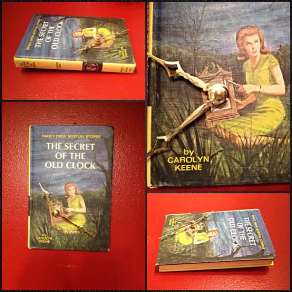 Nancy Drew Clock