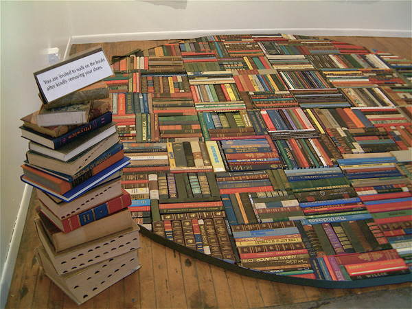 Book Spine Rug