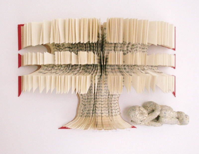 Book Art Tree