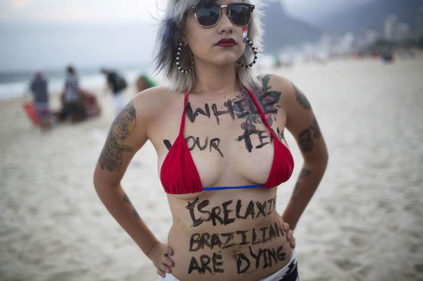 Brazil World Cup Activism