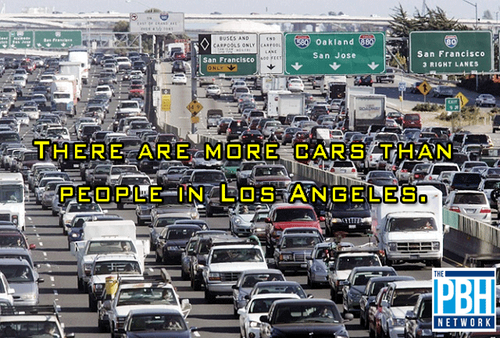 Cars Versus People In Los Angeles