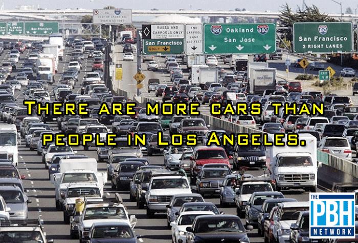 Cars Versus People In Los Angeles
