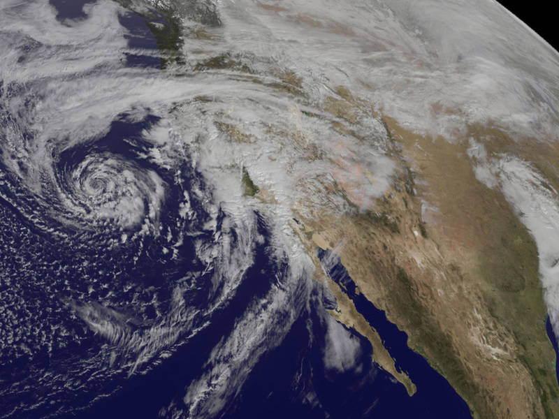 Coriolis Effect Storms