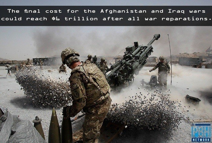Total Cost Of Afghanistan & Iraq Wars