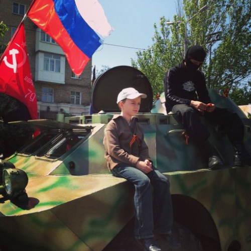 Eastern Ukraine Child