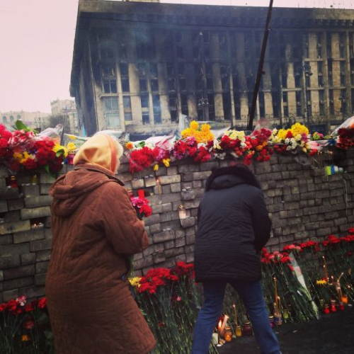 Eastern Ukraine Smoke Flowers