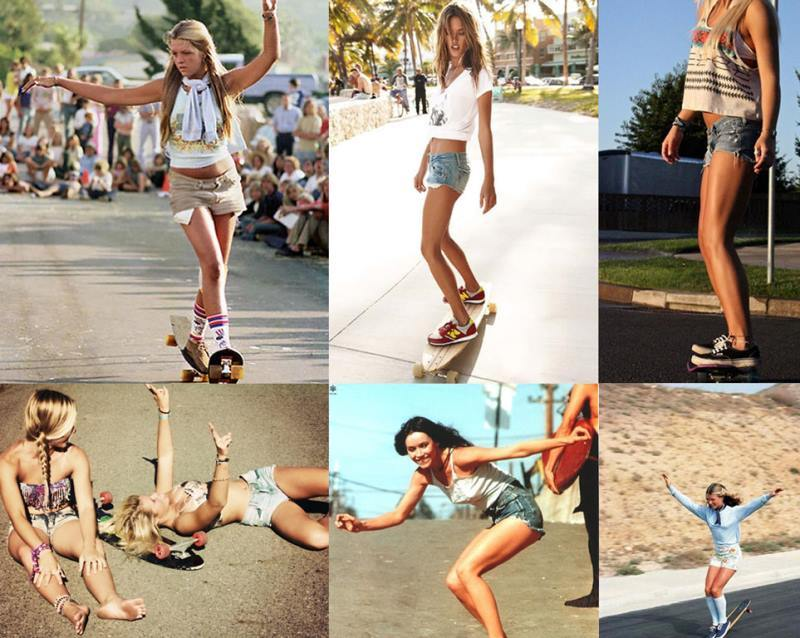 Female Skateboarders In The 1970s