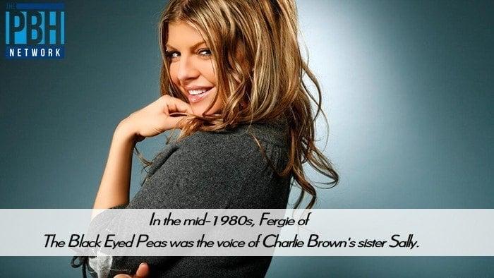 Fergie In Charlie Brown