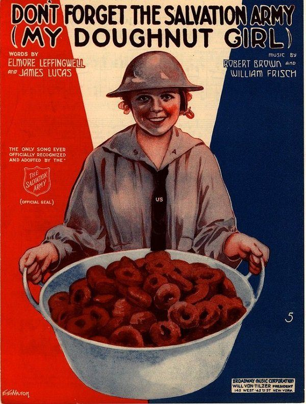 Salvation Army Doughnut Girls