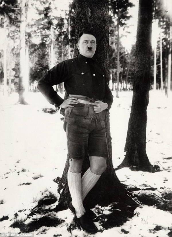 Hitler Leaning