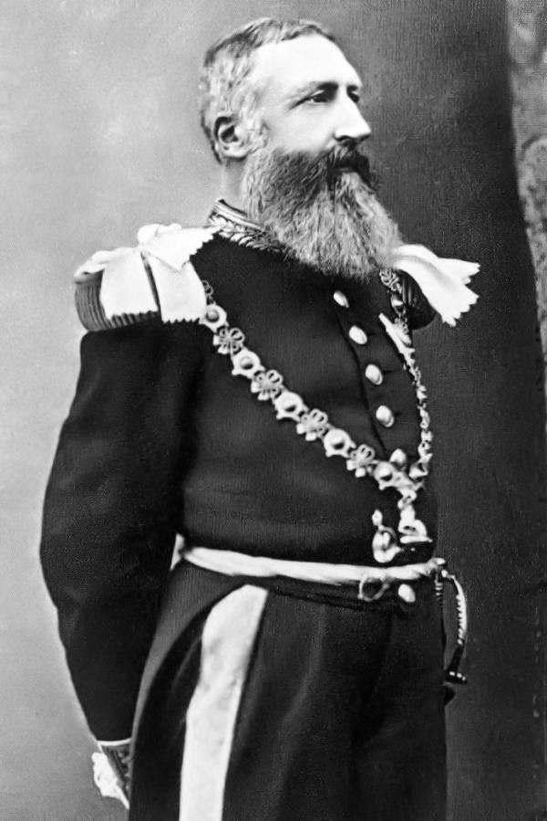 King Leopold Portrait