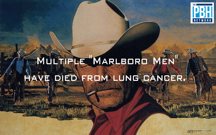 Marlboro Men Dying Of Lung Cancer