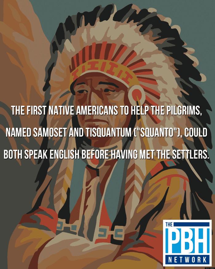 Native Americans Spoke English