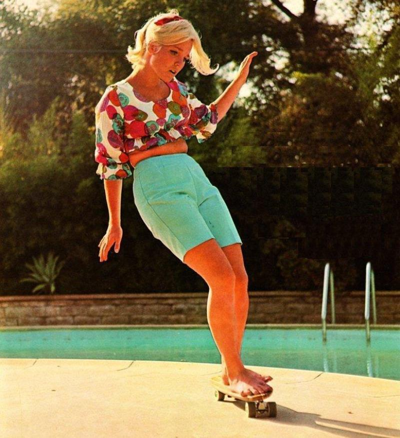 Patti McGee Skateboarding