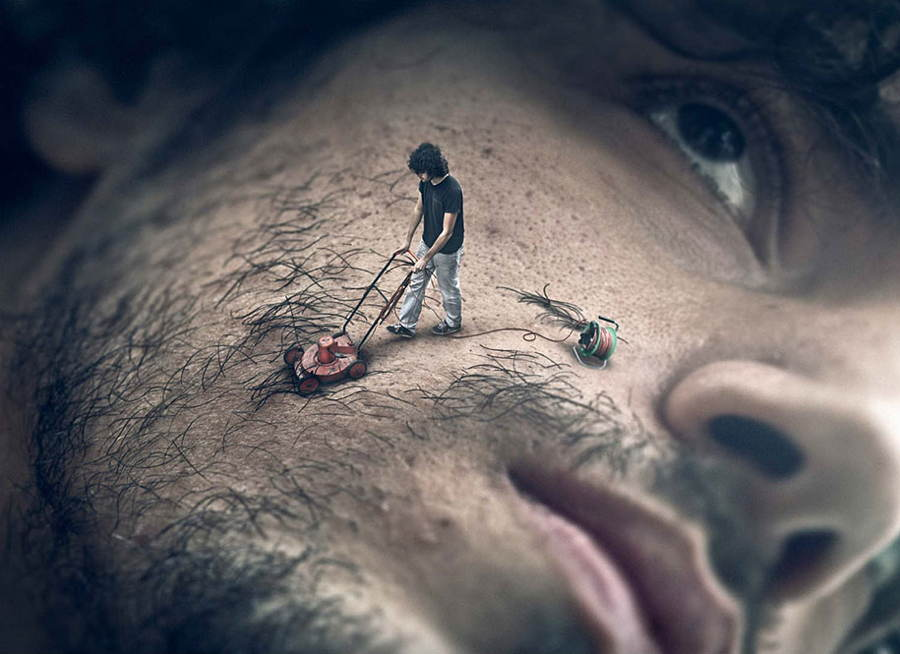 Photo Manipulations Mowing