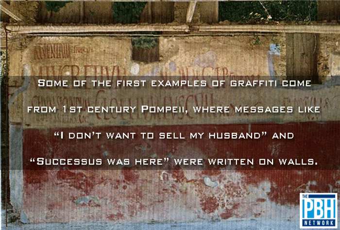 The First Examples Of Graffiti