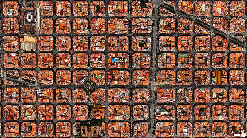 Satellite Photos Barcelona