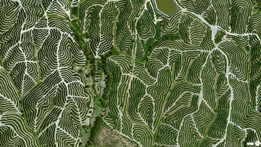 Satellite Photos Spain