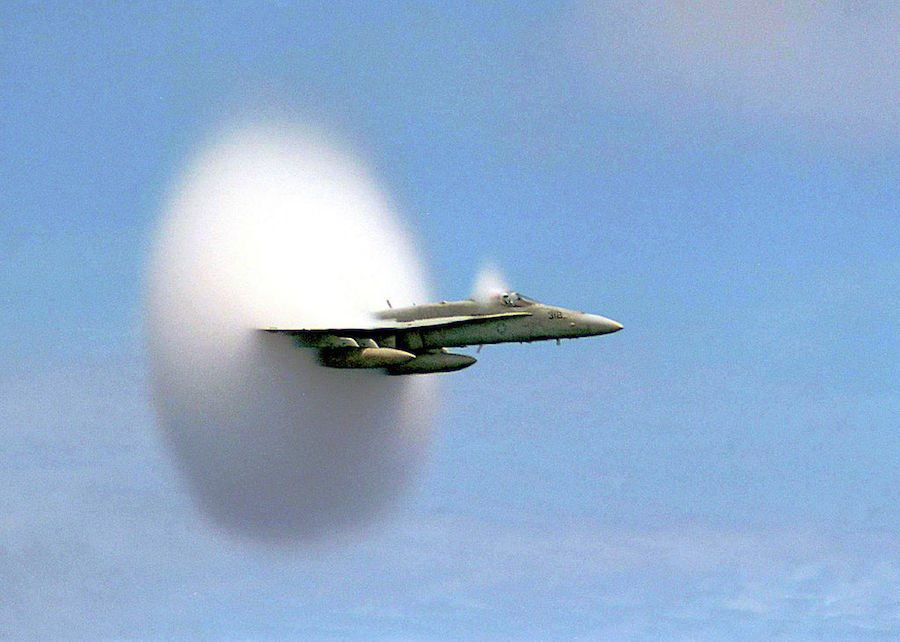 Sound Barrier Jet