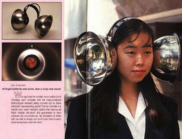 Ear Enhancers Weird Inventions