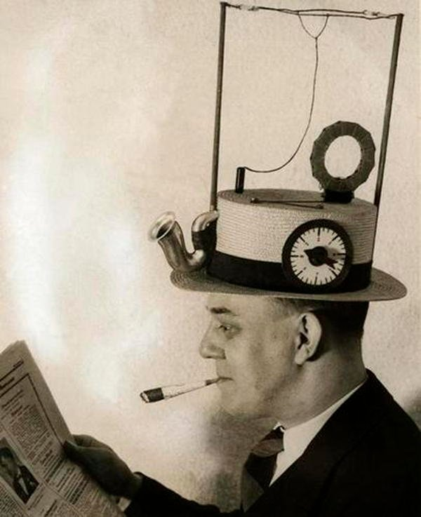 Strangest Inventions Radio Hat